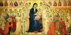 Maesta, from Sienna Cathedral, Duccio